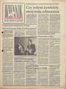 Dziennik Dolnośląski, 1991, nr 98 [13 lutego], wyd. Jelenia Góra - Legnica - Wałbrzych
