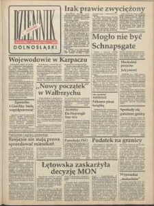 Dziennik Dolnośląski, 1991, nr 109 [28 lutego]