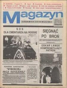 Magazyn Dziennik Dolnośląski, 1991, nr 154 [19 września]