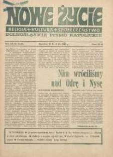 Nowe Życie :dolnośląskie pismo katolickie : religia, kultura, społeczeństwo, 1985, nr 4 (42)