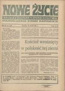 Nowe Życie :dolnośląskie pismo katolickie : religia, kultura, społeczeństwo, 1985, nr 5 (43)