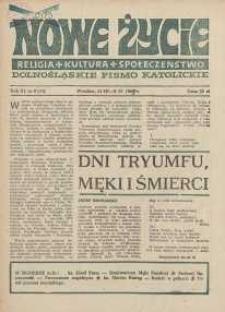 Nowe Życie :dolnośląskie pismo katolickie : religia, kultura, społeczeństwo, 1985, nr 6 (44)