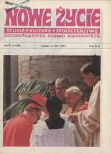 Nowe Życie :dolnośląskie pismo katolickie : religia, kultura, społeczeństwo, 1985, nr 12 (50)