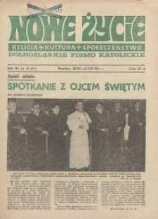 Nowe Życie :dolnośląskie pismo katolickie : religia, kultura, społeczeństwo, 1985, nr 13 (51)