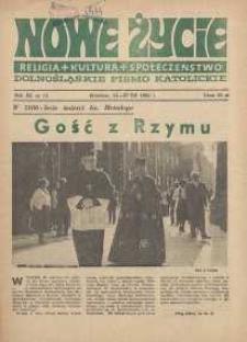 Nowe Życie :dolnośląskie pismo katolickie : religia, kultura, społeczeństwo, 1985, nr 14 (52)
