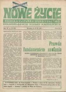 Nowe Życie :dolnośląskie pismo katolickie : religia, kultura, społeczeństwo, 1985, nr 18 (56)