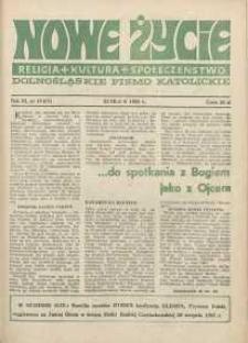 Nowe Życie :dolnośląskie pismo katolickie : religia, kultura, społeczeństwo, 1985, nr 19 (57)