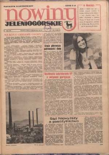 Nowiny Jeleniogórskie : magazyn ilustrowany, R. 16, 1973, nr 47 (800)