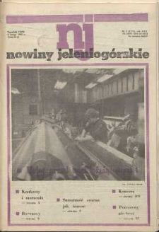Nowiny Jeleniogórskie : tygodnik PZPR, R. 30, 1987, nr 5 (1171)