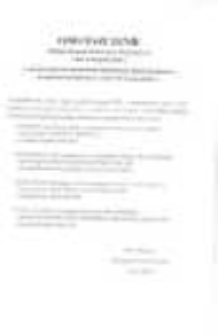 Obwieszczenie Miejskiej Komisji Wyborczej w Świebodzicach