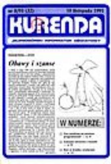Kurenda : jeleniogórski informator oświatowy, 1991, nr 8 (32)
