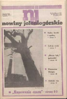 Nowiny Jeleniogórskie : tygodnik PZPR, R. 30, 1987, nr 14 (1180)