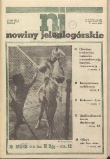 Nowiny Jeleniogórskie : tygodnik PZPR, R. 30, 1987, nr 19 (1185)