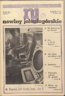 Nowiny Jeleniogórskie : tygodnik PZPR, R. 30, 1987, nr 20 (1186)