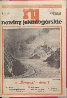Nowiny Jeleniogórskie : tygodnik PZPR, R. 30, 1987, nr 47 (1208!)