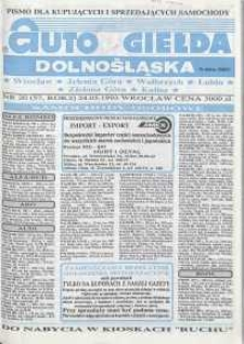 Auto Giełda Dolnośląska : pismo dla kupujących i sprzedających samochody, R. 2, 1993, nr 20 (57) [24.05]
