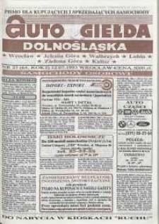 Auto Giełda Dolnośląska : pismo dla kupujących i sprzedających samochody, R. 2, 1993, nr 27 (64) [12.07]