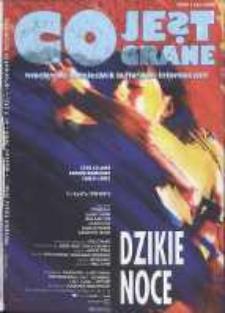 Co Jest Grane : wrocławski miesięcznik kulturalno-informacyjny, 1995, nr 3 (13)