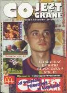 Co Jest Grane : wrocławski miesięcznik kulturalno-informacyjny, 1995, nr 8 (18)