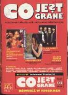 Co Jest Grane : wrocławski miesięcznik kulturalno-informacyjny, 1995, nr 9 (19)