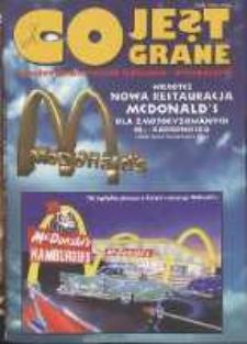 Co Jest Grane : wrocławski miesięcznik kulturalno-informacyjny, 1995, nr 10 (20)