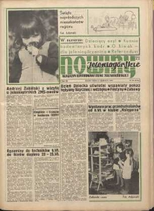 Nowiny Jeleniogórskie : magazyn ilustrowany ziemi jeleniogórskiej, R. 12, 1969, nr 23 (574)