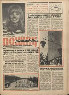 Nowiny Jeleniogórskie : magazyn ilustrowany ziemi jeleniogórskiej, R. 12, 1969, nr 24 (575)