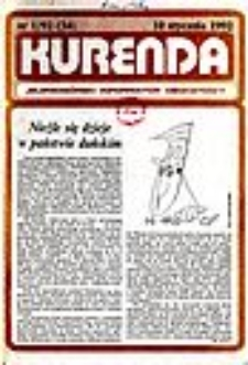 Kurenda : jeleniogórski informator oświatowy, 1992, nr 1 (34)