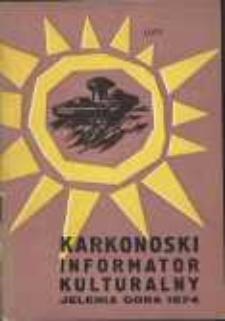 Karkonoski Informator Kulturalny, 1974, nr 2 (84)