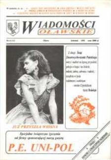 Wiadomości Oławskie, 1991, nr 4 (6)