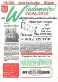 Wiadomości Oławskie, 1991, nr 12 (14)