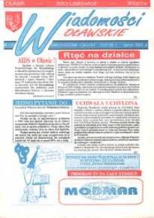Wiadomości Oławskie, 1992, nr 1 (17)