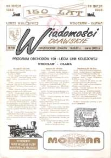 Wiadomości Oławskie, 1992, nr 9 (25)