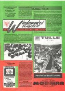 Wiadomości Oławskie, 1992, nr 14 (30)