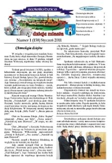 Świebodzice - Dzieje Miasta, 2011, nr 1 (158) [Dokument elektroniczny]