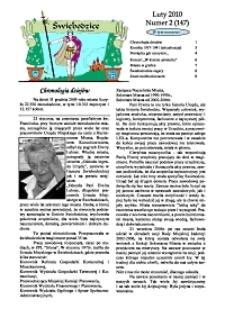 Świebodzice - Dzieje Miasta, 2010, nr 2 (147) [Dokument elektroniczny]