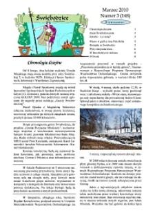 Świebodzice - Dzieje Miasta, 2010, nr 3 (148) [Dokument elektroniczny]