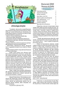 Świebodzice - Dzieje Miasta, 2010, nr 4 (149) [Dokument elektroniczny]