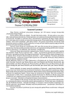 Świebodzice - Dzieje Miasta, 2010, nr 5 (150) [Dokument elektroniczny]