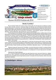 Świebodzice - Dzieje Miasta, 2010, nr 10 (155) [Dokument elektroniczny]