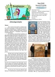 Świebodzice - Dzieje Miasta, 2009, nr 5 (138) [Dokument elektroniczny]