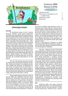 Świebodzice - Dzieje Miasta, 2009, nr 6 (139) [Dokument elektroniczny]