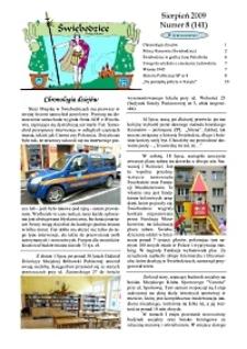 Świebodzice - Dzieje Miasta, 2009, nr 8 (141) [Dokument elektroniczny]