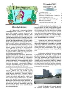Świebodzice - Dzieje Miasta, 2009, nr 9 (142) [Dokument elektroniczny]