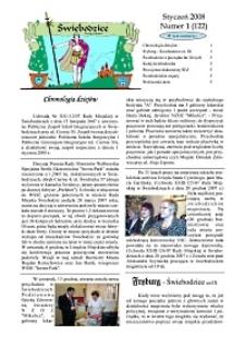 Świebodzice - Dzieje Miasta, 2008, nr 1 (122) [Dokument elektroniczny]
