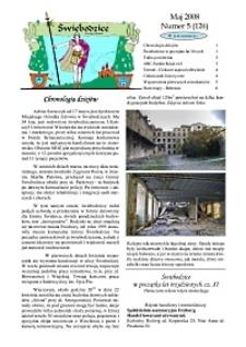 Świebodzice - Dzieje Miasta, 2008, nr 5 (126) [Dokument elektroniczny]