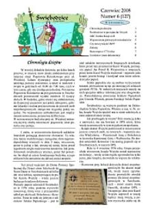 Świebodzice - Dzieje Miasta, 2008, nr 6 (127) [Dokument elektroniczny]