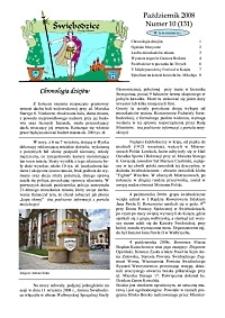 Świebodzice - Dzieje Miasta, 2008, nr 10 (131) [Dokument elektroniczny]