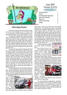Świebodzice - Dzieje Miasta, 2007, nr 2 (111) [Dokument elektroniczny]