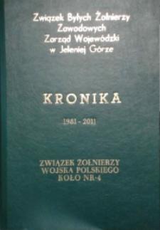 30 lat działalności - Związek Żolnierzy Wojska Polskiego w Jeleniej Górze 1981-2011